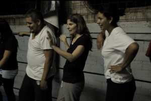 Clínica Discurso, maestra invitada Nina Nocht, abril 2013