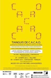 cartel gral CACAO OAX